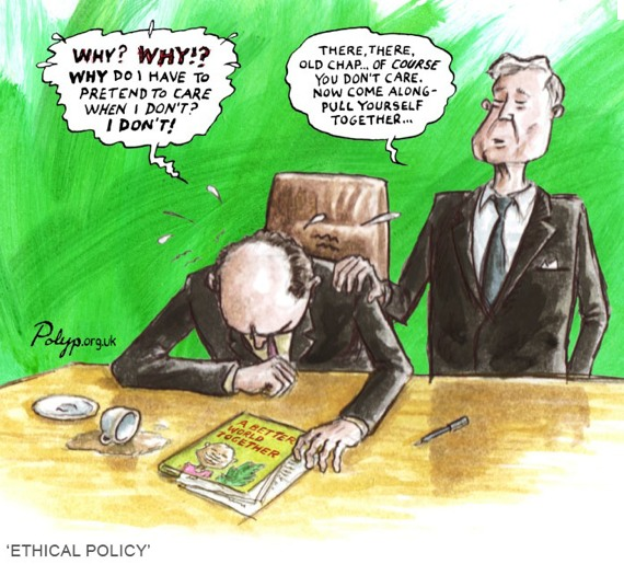 Ethical policy cartoon